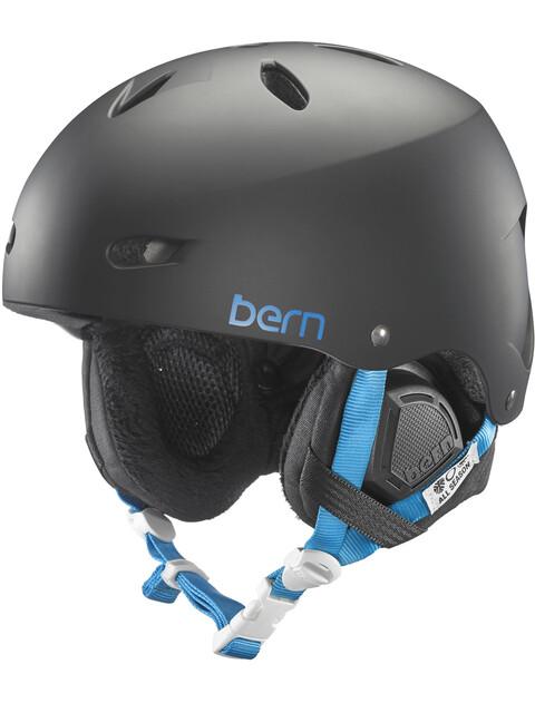 Bern Brighton EPS Matte Black w/ Black Liner
